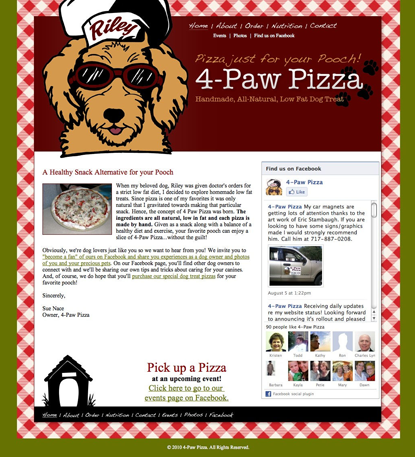 4 Paw Pizza