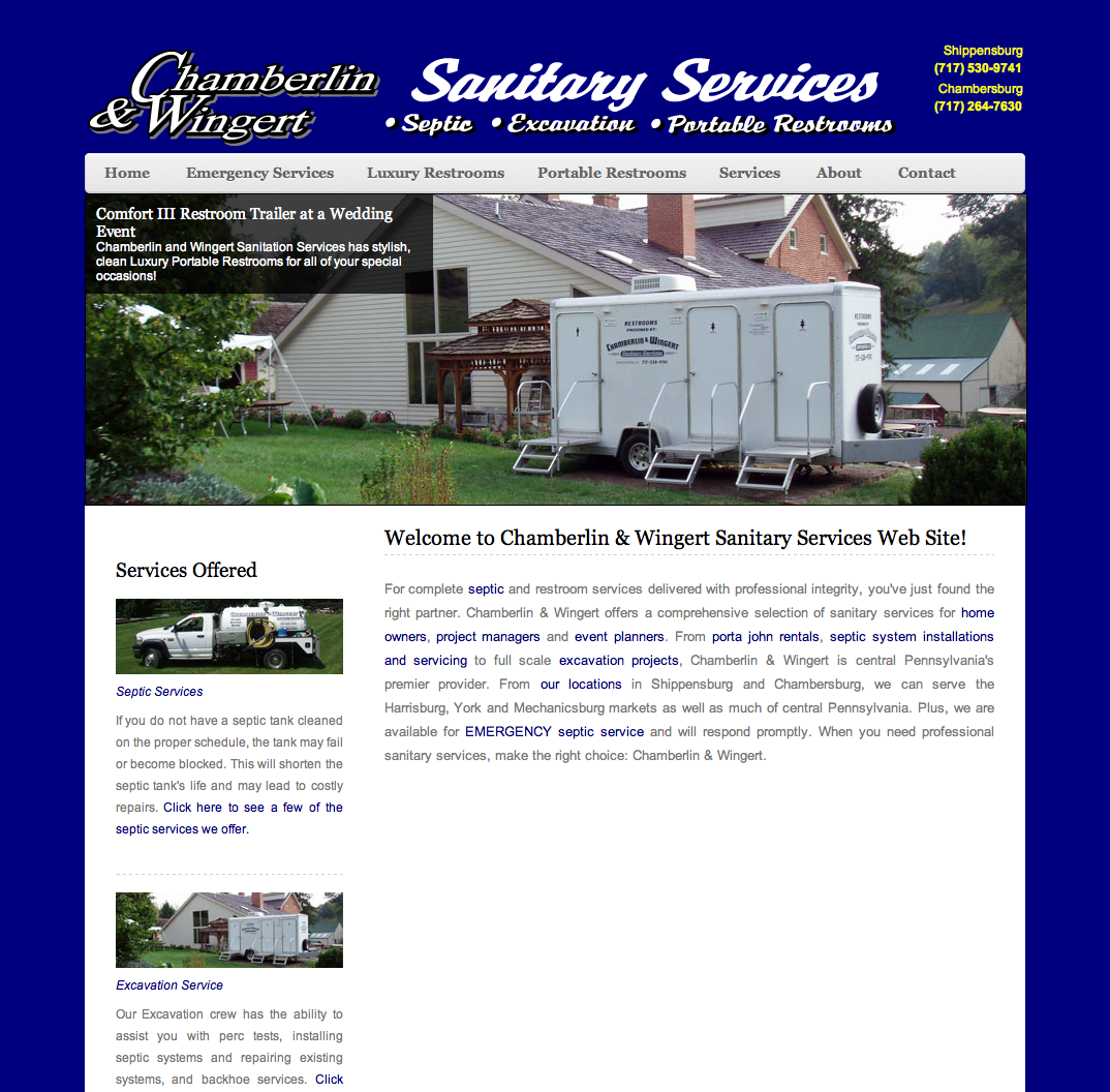 Chamberlin & Wingert Sanitary Services